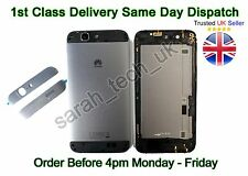 New Huawei Ascend G7 G7-L01 G7-L03 Battery Rear Cover Case With Buttons Black