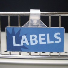 Fold-N-Hold Label Holder 3� X 1 1/4�Package of 100