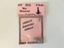 Langley Models A50 N Gauge N Scale WAR MEMORIAL