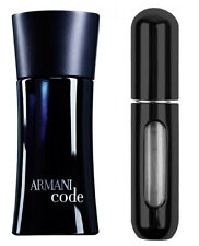 ARMANI CODE FOR HIM 5ML EAU DE TOILETTE SPRAY BLACK  *