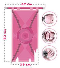 Rose Quartz battle flag, lifesize banner, Steven Universe, Crystal Gems