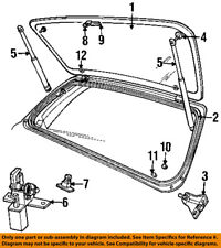 Jeep CHRYSLER OEM 93-98 Grand Cherokee Lift Gate-Weatherstrip Seal 55135179AB