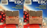 NEW EBC Sintered HH Front Brake Pads X2  2004-2014 Honda CBR1000RR / FA390HH