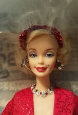 Barbie As Marilyn Monroe Gentlemen Prefer Blondes Red Dress Hollywood Legends