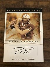 2004 Fleer Flair Philip Rivers Autograph RC #d 107/350 Auto Colts Rookie Card