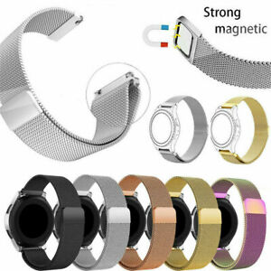 For Various Samsung Galaxy SmartWatches Replacement Milanese Loop Band Strap