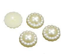 lilas 4 pcs #k206 22x12mm Resin résine fleurs cabochons perles