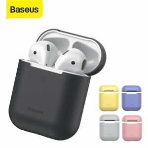 Baseus Airpod Protective Case Silicone Shockproof  Shell for Apple Airpods 1 2