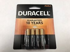 Duracell Coppertop AAA 4 Pack Batteries  March 2027
