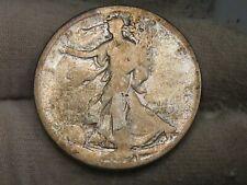 Key Date 1921 Walking LIBERTY Half Dollar.  #37