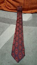 Cravatta Paterson Trevira poliestere vintage tie necktie made in england