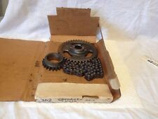 Ford, 302, timing chain and sprockets.  New old stock.  Item:  3292