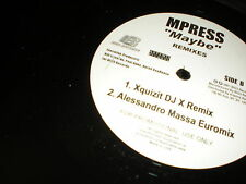 "Mpress Maybe DJ X - Hector Quayle 12"" mixes FLA BREAKS"