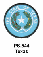 """TEXAS State Seal Embroidered Patch-3"""""""