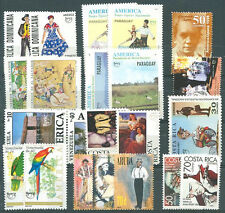 UPAEP 12 DIFFERENT COMPLETE SETS MNH VF