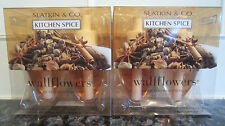 Bath & and Body Works Plug In Refill FALL Wallflowers Lot of 4 KITCHEN SPICE