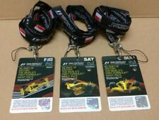 Mega Rare F1 Singtel Singapore Grand Prix 2008 Tickets w/Lanyard x3 Days (A1767)