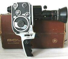 Paillard Bolex P2 8mm Movie Camera SOM Berthiot Pan-Cinor Lens
