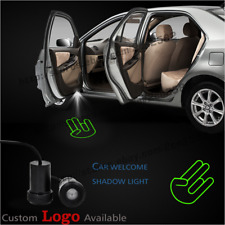 2xLove Hand Gesture Decal Car Door Logo Welcome Laser Projector Shadow LED Light