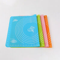 Silicone Cake Fondant Pastry Bakeware Baking Dough Rolling Mat Oven Pad Fashion