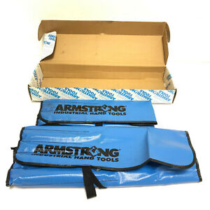 Armstrong 27-708 17pc, 12pt Full Polish Geared Box Wrench Set, SAE & Metric