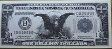 ORIGINAL $1,000,000,000 (1 BILLION DOLLAR) BILL NOVELTY