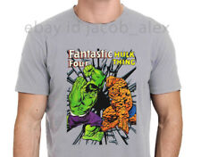 HULK Vs THE THING Marvel Comic Super Hero T-Shirt Men's Gildan Size S-to-XXL