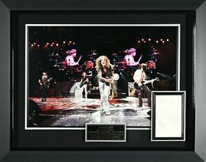 Aerosmith Band Signed Concert Display