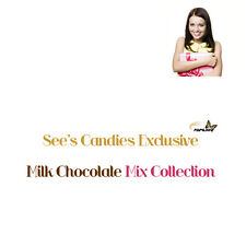 Sees Candies Exclusive Milk Chocolate Mix Collection, (Three Pound)