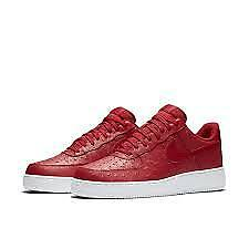 Nike Air Force 1 Low Lv8 Gym Red White Ostrich Knuckles Sz 11 718152-603