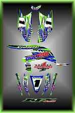 Kawasaki KFX450R KFX 450Sport Quad Custom Graphics Kit Striper2