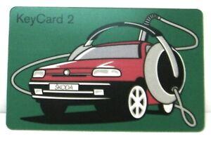 Blaupunkt Card Keycard 2 Skoda Replacement Part 8631150136 Spare Part
