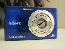 Sony Cyber-shot DSC-W330 14.1MP Digital Camera - Blue