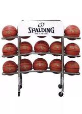 Basketball Rack,Chrome SPALDING 411-602