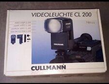 Cullmann CL200 Videoleuchte & Accu 📹