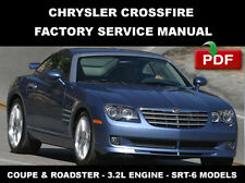 CHRYSLER CROSSFIRE 2004 2003 2004 2005 2006 2007 2008 ULTIMATE SERVICE MANUAL