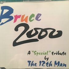 The 12th Man - Bruce 2000 - A Special Tribute CD Single (2000) Mint