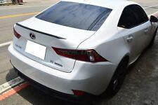B-Type Carbon Fiber Trunk Spoiler For MY13-18 Lexus IS250/IS300h GSE30 (CF)