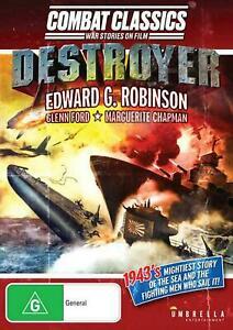 Destroyer (1943) (Combat Classics) (DVD) NEW/SEALED [All Regions]