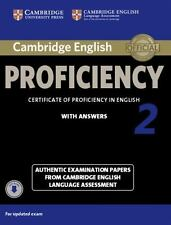 Cambridge English Proficiency 2 Student's Book With Answers With Audio: Authe...