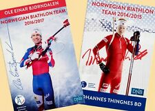 Ole Einar Björndalen John thingnes Boe (1) - 2 AK-PICTURES + AK FREE