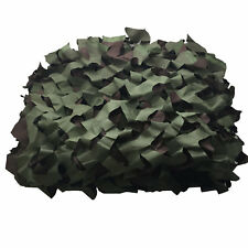 SAS Outdoor Green Camping Camo Netting - 4.5 ft x 6.5 ft Decoration Airsoft