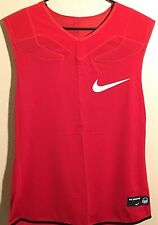 Nike Vapor Speed Sleeveless Football Padded Shirt Red Mens Size 3Xl #835345-657