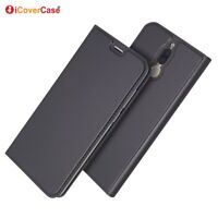 Magnetic PU Leather Flip Case Shockproof Card Cover for Huawei Mate 10 lite