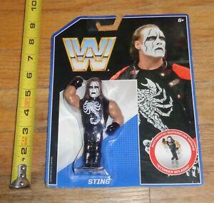 2017 WWE WWF Mattel Sting Retro Wrestling Figure AEW All Elite NWA TNA WCW NWO