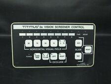 Titmus 2a Vision Screener Keypad Controller