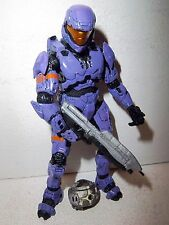 Halo 3 Series 5 **BIG BAD TOY STORE EXCL PURPLE ODST** 100% Complete w/ Weapons!