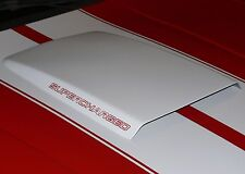 Universal Bolt On Fiberglass Hot Rod Mustang Hood Scoop-1 Available @ This Price