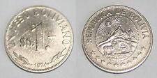 1 PESO BOLIVIANO 1974 REPUBLICA DE BOLIVIA