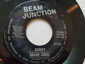"""Grace Jones - Désolé / That's The Trouble 1976 Disco Soul 7 """""""